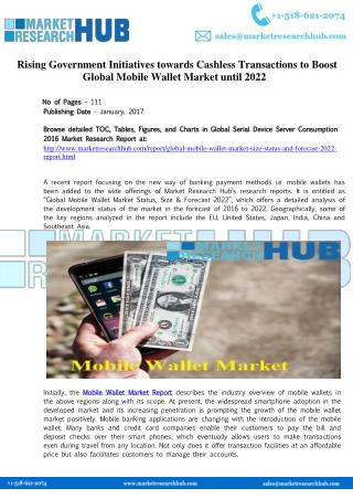 Global Mobile Wallet Market Research Report 2017