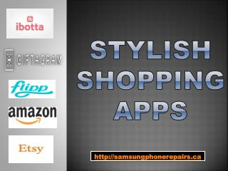 Top 5 stylish shopping apps for the season