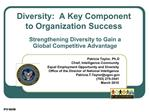 Strengthening Diversity to Gain a Global Competitive Advantage