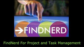 FindNerd : A Social Network with Project And Task Management Features
