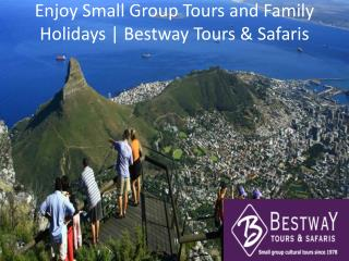 Enjoy Small Group Tours and Family Holidays | Bestway Tours & Safaris