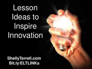Lesson Ideas to Inspire Innovation