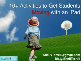 Moving Activities with iPad SK12 Version