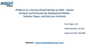 Market Research on Platform as a Service (PaaS) Market 2025|The Insight Partners