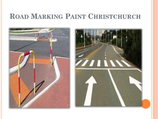Road Marking Paint Christchurch