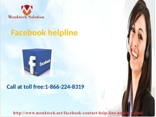 Facebook helpline issue is no longer a big deal 1-866-224-8319