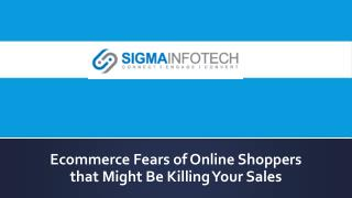 Shopping cart solutions sydney - Sigma Infotech