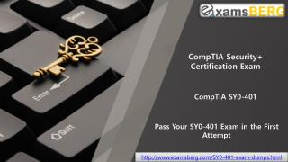 CompTIA SY0-401 Questiosn and answers PDF