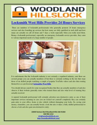 locksmith woodland hills ca, locksmith calabasas, canoga park locksmith, locksmith west hills