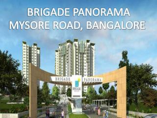 Luxury Homes by Brigade Panorama, Call: ( 91) 9953 5928 48 | Mysore Road, Bangalore