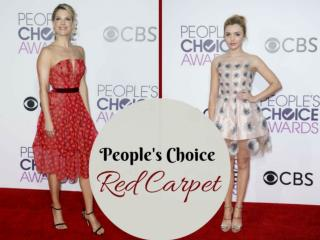 People's Choice red carpet