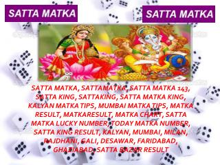All About The Game of Satta