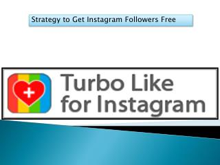 Strategy to Get Instagram Followers Free