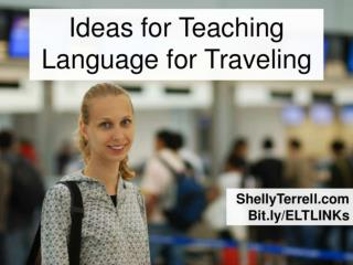 Teaching English for Traveling