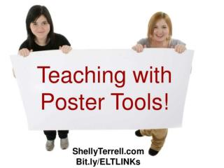 Teaching with Poster Tools