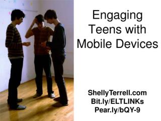 Motivating Teens with Mobile Devices