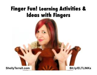 Fun with Fingers! Activities, Apps, & Tools for Teaching Kids