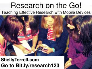 Research on the Go! Effective Research with Mobile Devices GAETC