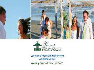 Visit us for the best Cruise ship wedding in the Cayman Islands