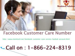 Now Give A Single Call @1-866-224-8319 Facebook Customer Care Number