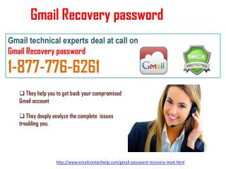 Contact Reset Gmail password@1-877-776-6261    to wipe out your Gmail Problem