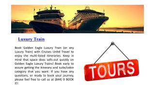 Cruises Unltd Travel/Tours