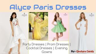 Look Stylish and Unique with Alyce Paris Dresses