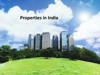 Properties in India