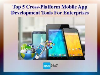 Top 5 Cross-Platform Mobile App Development Tools For Enterprises