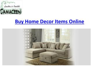 Best home decor Items online in US