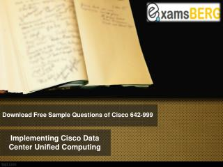 Examsberg 642-999 Exam Questions Answers