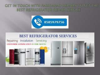 Get In Touch With Faridabad Repairs To Get The Best Refrigerator Repair Service