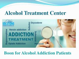 Alcohol Addiction treatment - New Solutions Counseling Centers