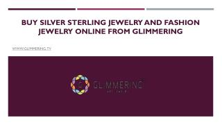 Buy Silver Sterling Jewelry and Fashion Jewelry Online From Glimmering