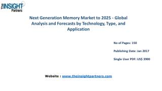 Next Generation Memory Market Trends, Business Strategies and Opportunities 2025 |The Insight Partners
