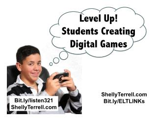 Level Up! Engaging Students by Having Them Create a Digital Game