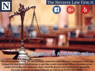 Litigation and ADR/Arbitration