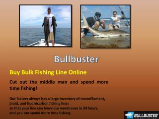 Buy Fishing Line Online