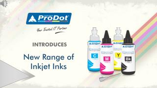Inkjet And CISS Ink - ProDot Group