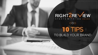 10 Tips to Build Your Brand