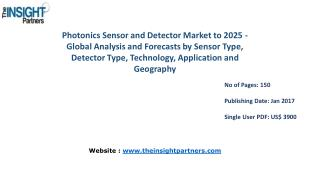 Photonics Sensor and Detector Market Share, Size, Growth & Forecast 2025 |The Insight Partners