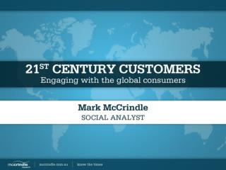 21st Century Customers: Engaging with Global Consumers
