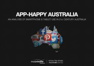 App Happy Australia: Technology & the Digital Intergrators