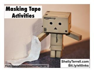 Lesson Ideas with Masking Tape
