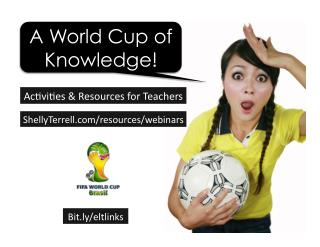 World Cup Lesson Ideas, Resources, & Apps