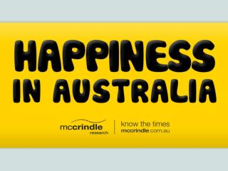 McCrindle Research Happiness in Australia