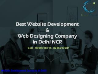 Website Development & Designing Company in Delhi NCR