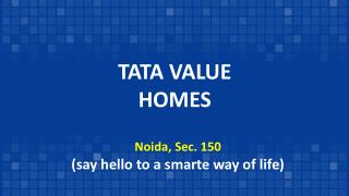 Tata Value Housing Noida Sector 150