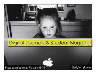 Digital Journals: Getting Students to Blog, Research, and Curate