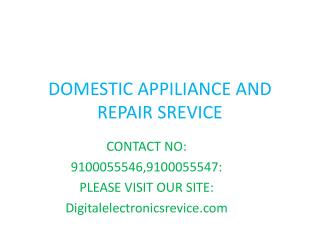Whirlpool Microwave Oven Repair Center in Hyderabad